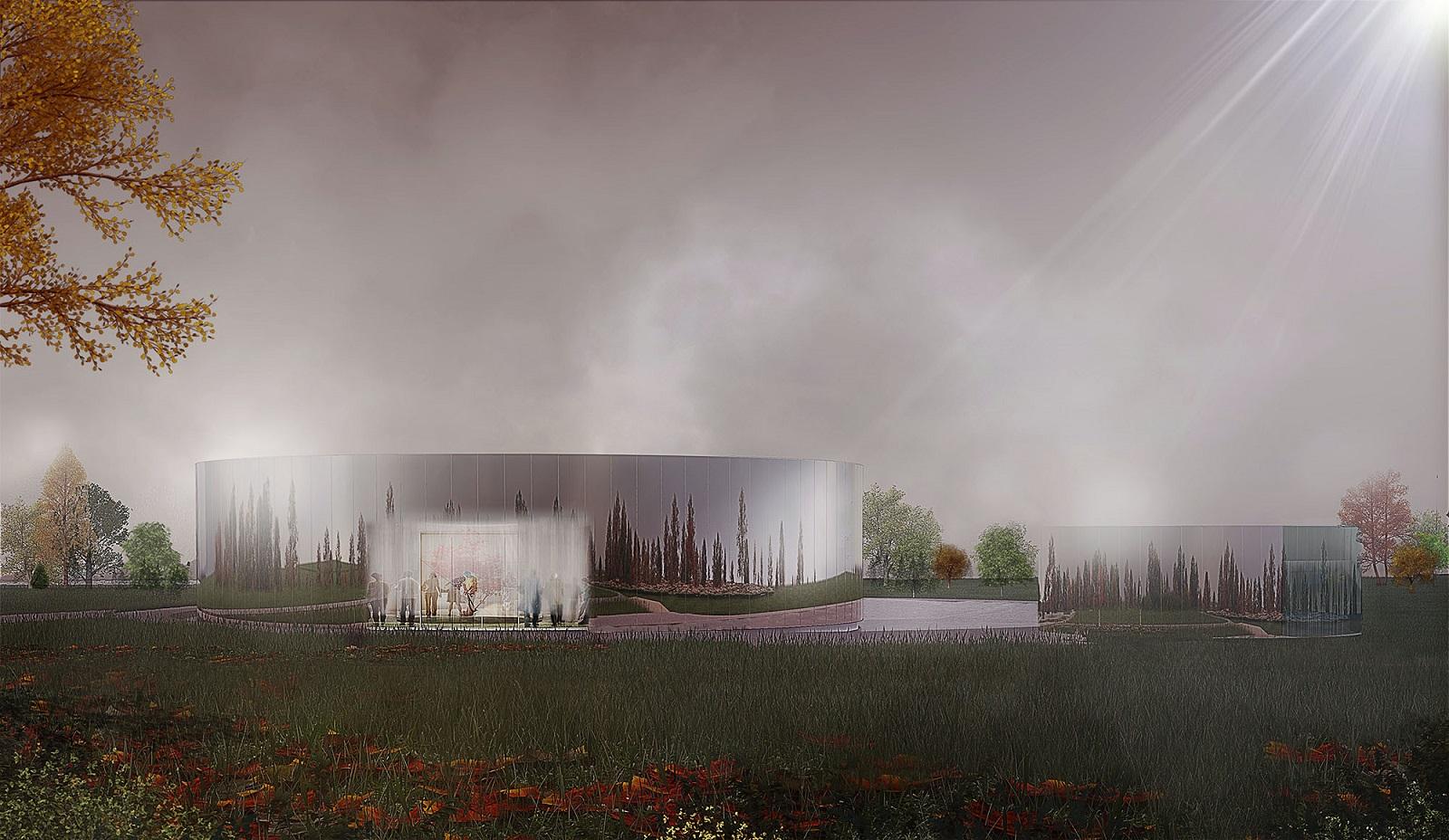 crematorium de cormeilles en parisis 95 phil as atelier d 39 architecture. Black Bedroom Furniture Sets. Home Design Ideas